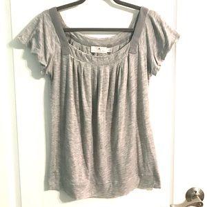 Adidas Stella McCartney Gray Short Sleeve Soft Top
